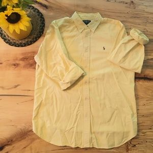 Polo Ralph Lauren Oxford Button Down - Yellow